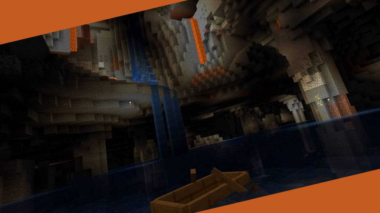 Minecraft Java Edition update delivers underground lakes in caves