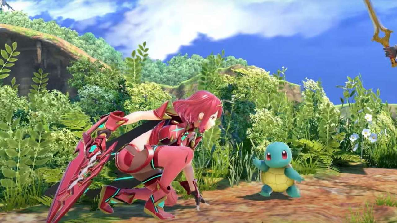 Super Smash Bros Ultimate's new Xenoblade Chronicles 2 fighter arrives next month
