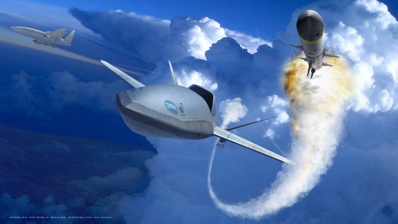 DARPA taps three companies to develop LongShot UAV missile concept