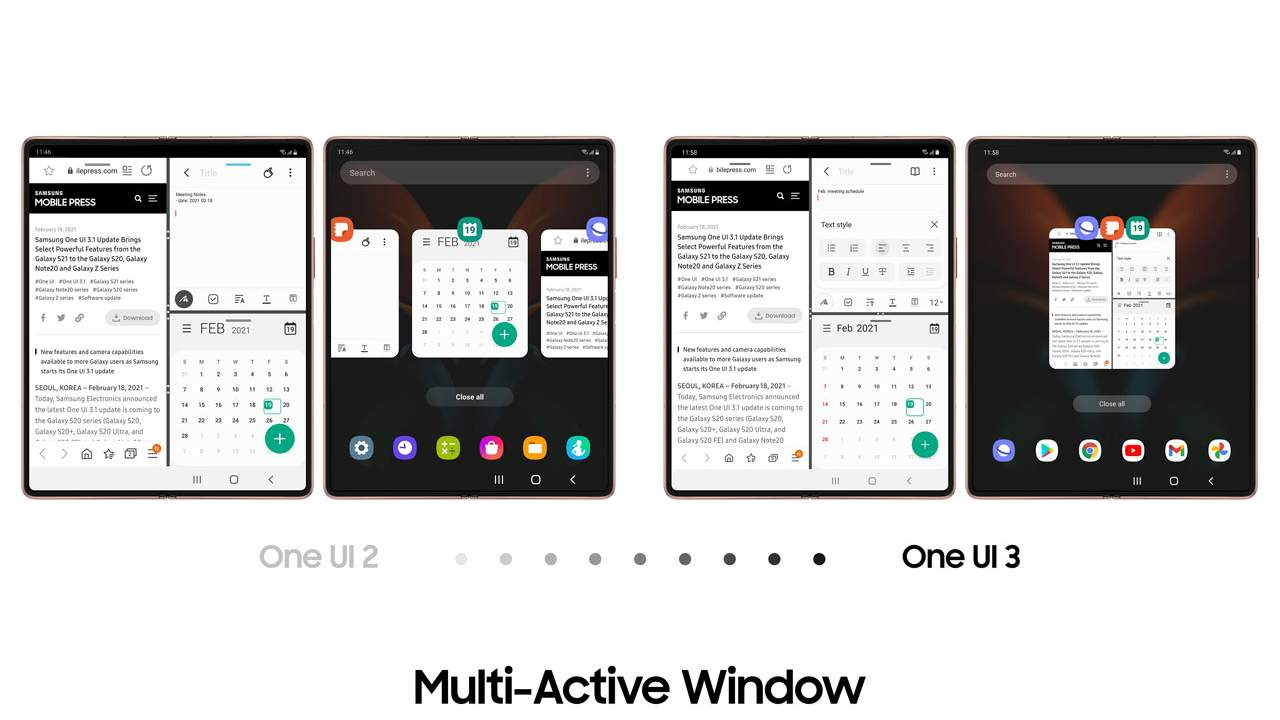 One UI 3.1 update for the Samsung Galaxy Z Fold2 brings new experiences
