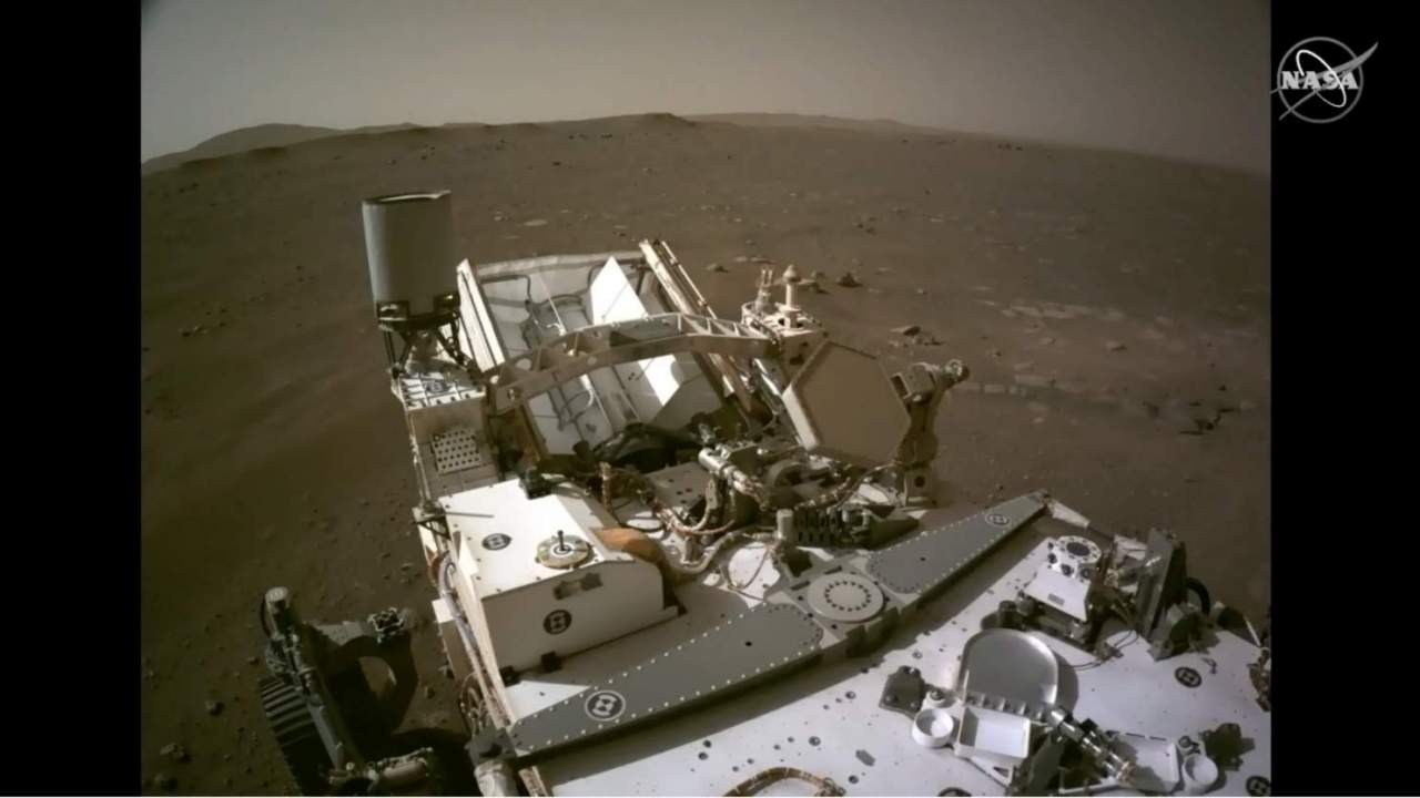 What Mars sounds like: NASA shares Perseverance rover audio & 360 pano