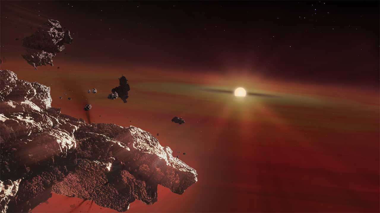 Scientists discover remnants of Earth-like planetary crusts in white dwarf stars