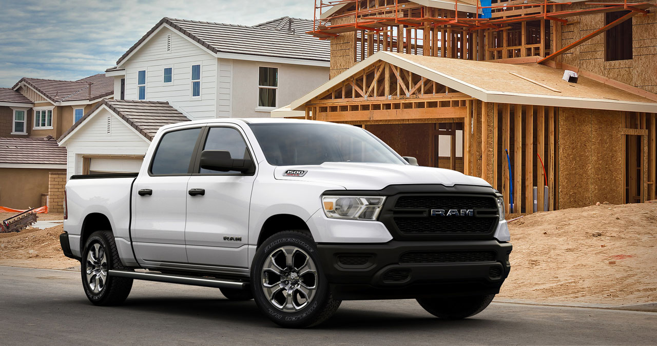 2021 Ram 1500 HFE EcoDiesel gets 33 MPG on the highway