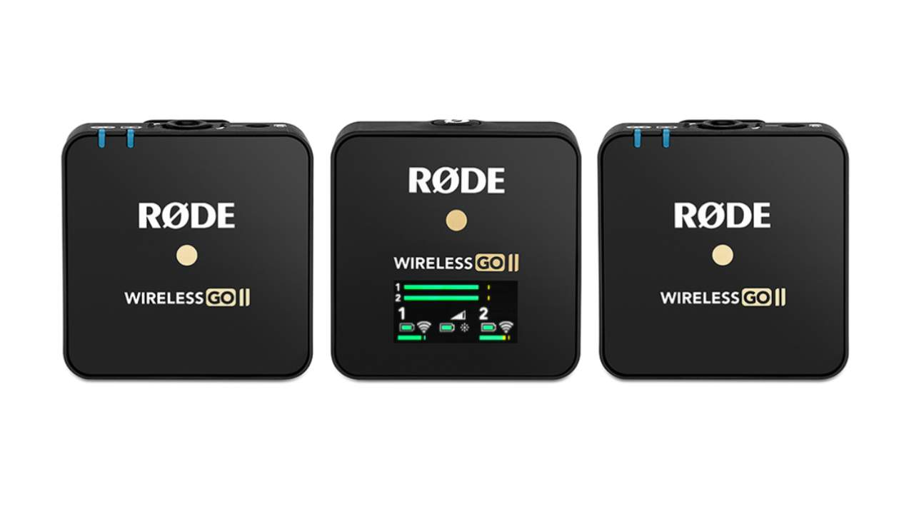 Rode Wireless GO II adds second mic, onboard recording & range boost