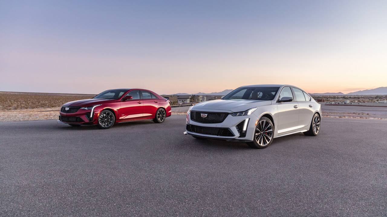 2022 Cadillac CT4-V & CT5-V Blackwing First Look: Leveling up the muscle