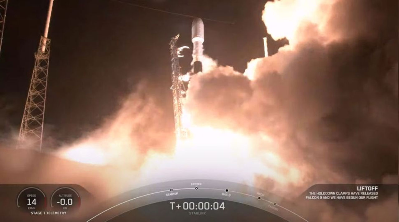 SpaceX puts 60 additional Starlink satellites into orbit but fails to recover the booster