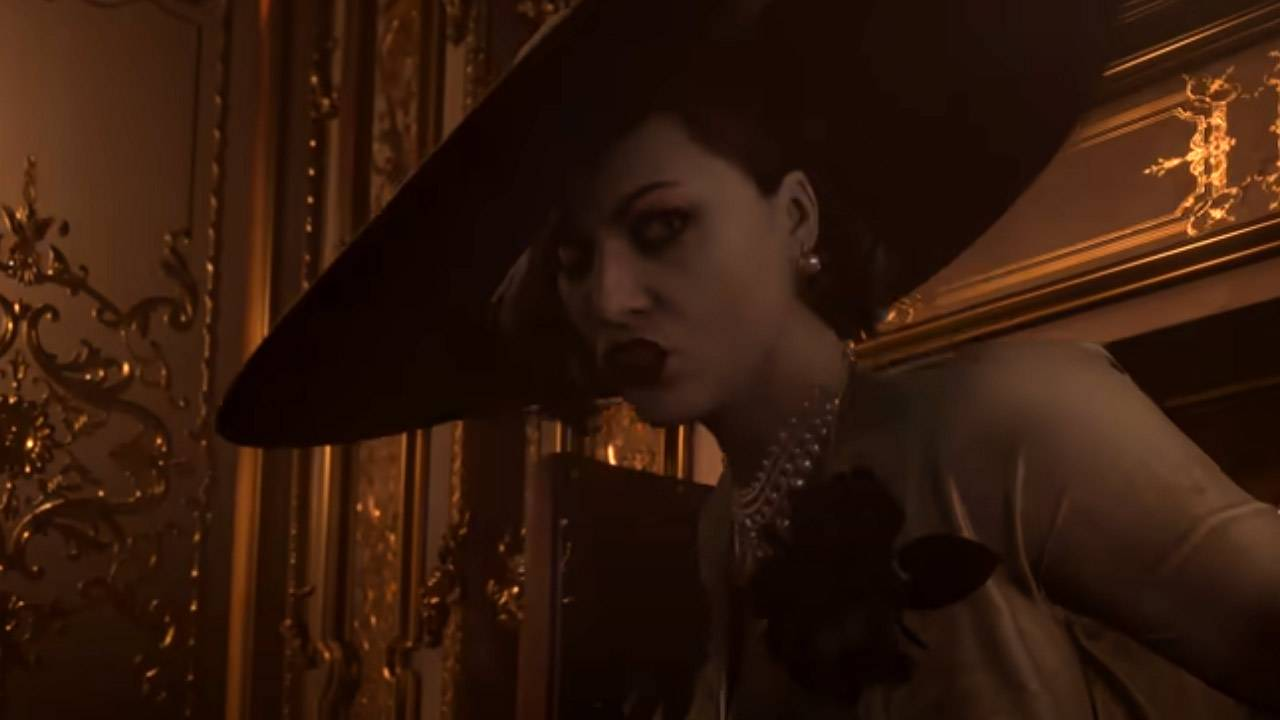 Resident Evil Village Lady Dimitrescu height revealed
