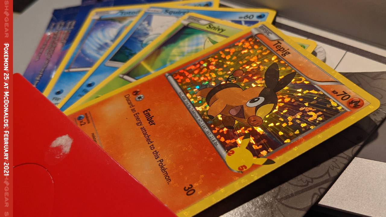 McDonalds Pokemon cards strategy and tips for Happy Meal madness [UPDATE!]