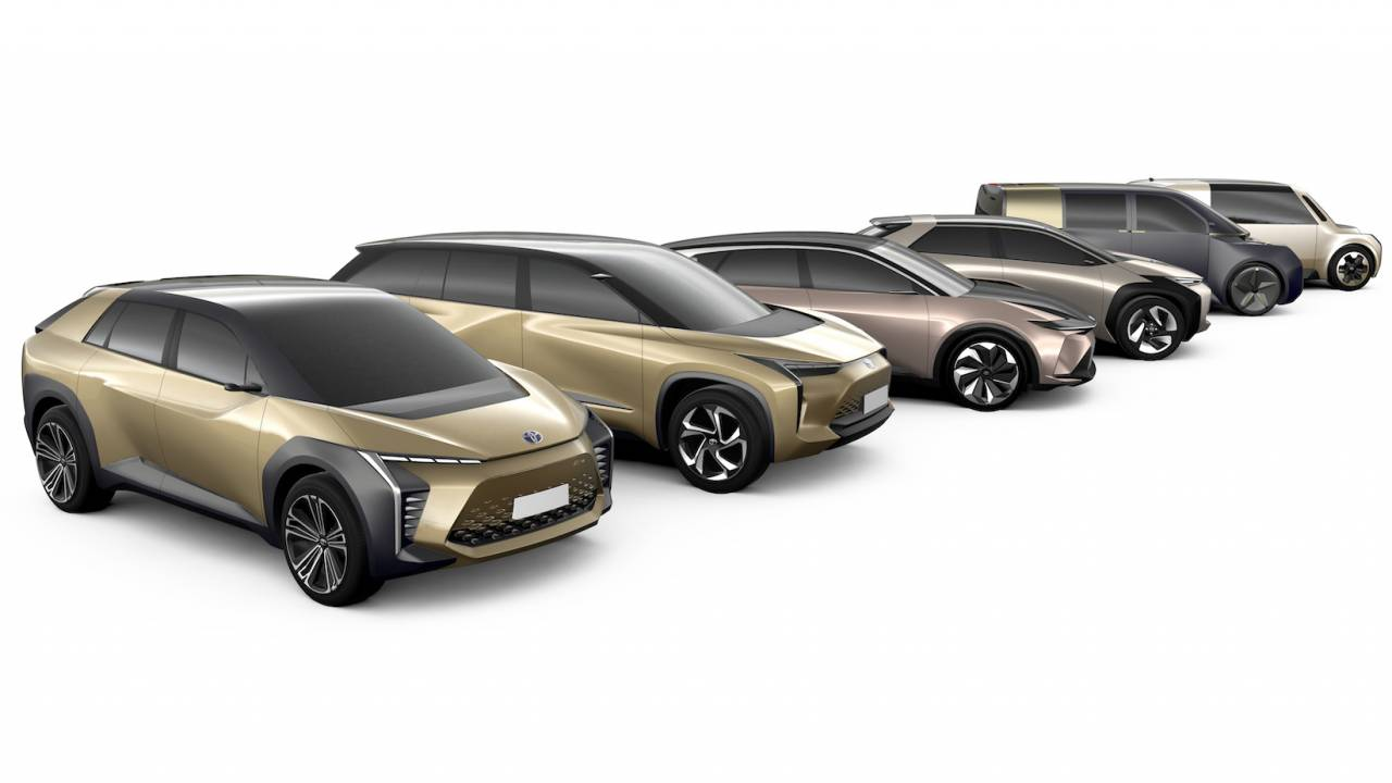 Toyota electric plans revealed: Two new BEVs for the US this year