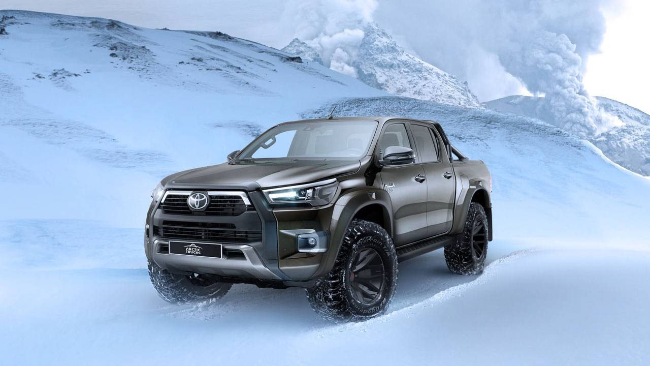 Toyota Hilux AT35 is designed for the Arctic extremes
