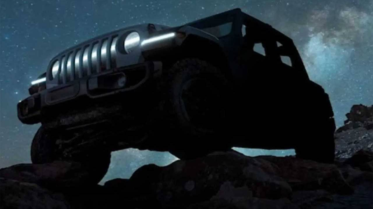 Fully electric Jeep Wrangler concept teased