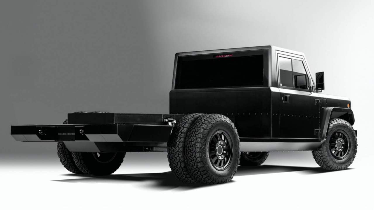 Bollinger prices its Class 3 EV cab and platform – and now there's a dually