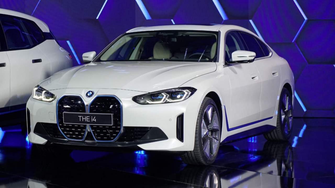 2022 BMW i4 all-electric sedan blends M power with decent range