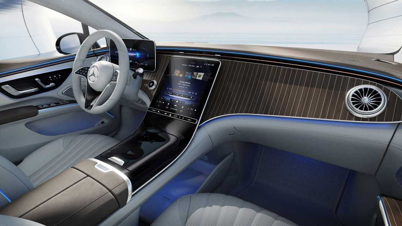 Mercedes-Benz unveils 2022 EQS interior without MBUX Hyperscreen