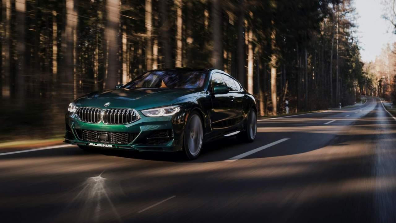 2022 BMW Alpina B8 Gran Coupé gives 8 Series a rare and lavish makeover