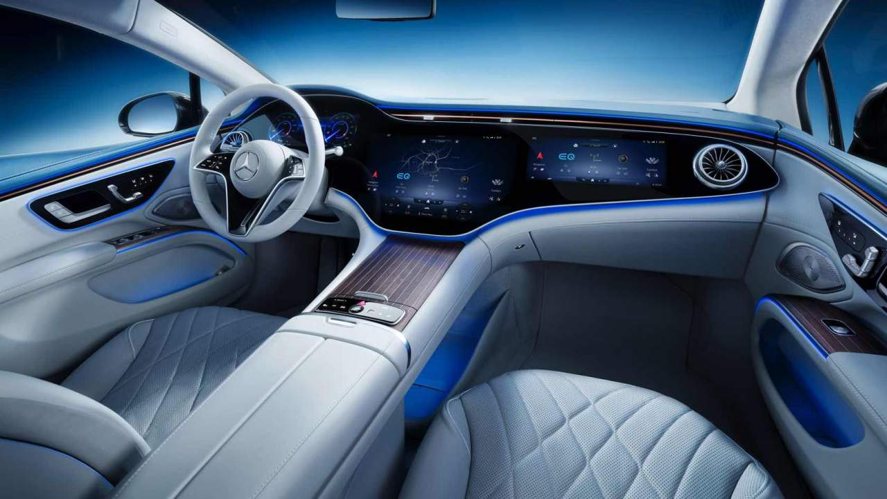 2022 Mercedes-Benz EQS luxury EV: Brains and beauty are a potent combination