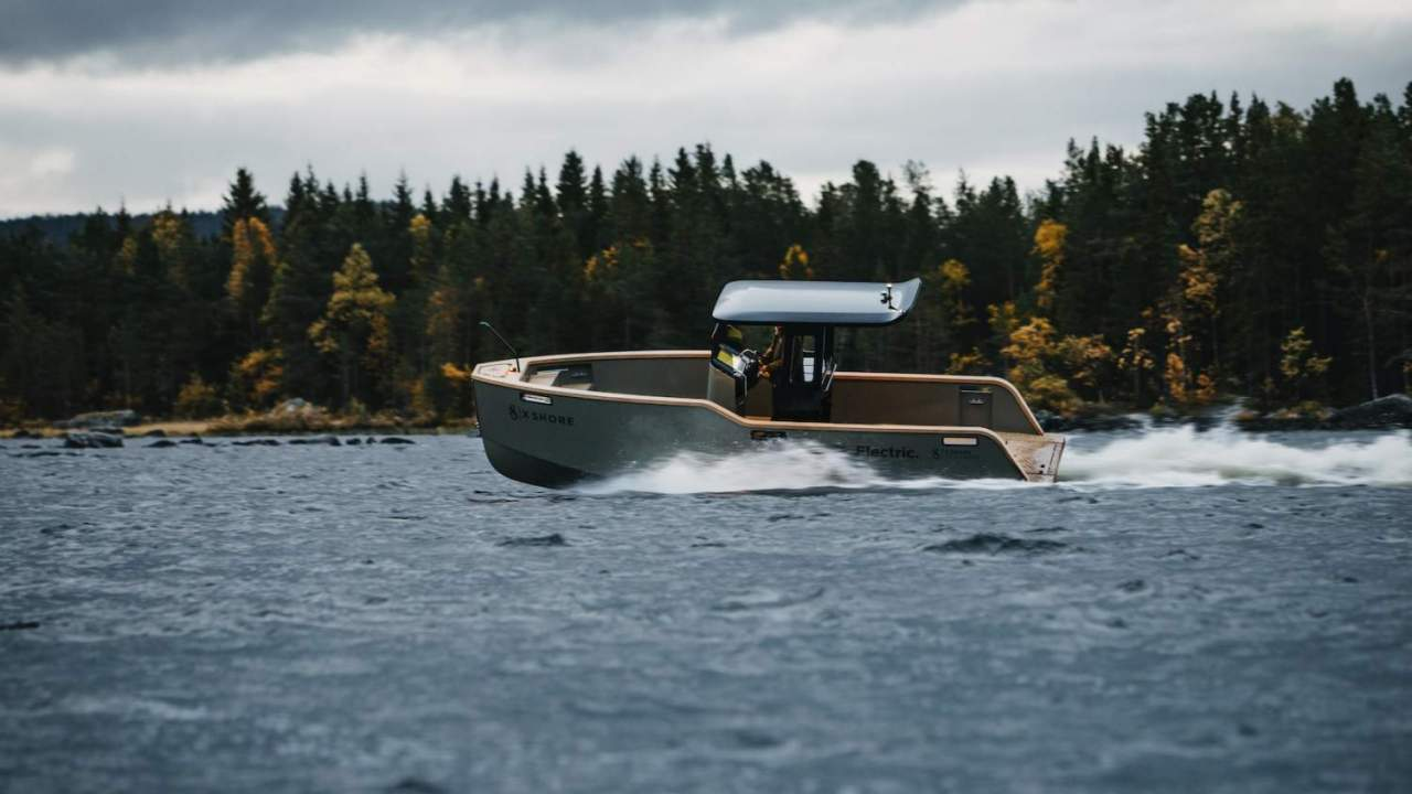 X Shore's Eelex 8000 – the Tesla of electric boats – is coming to the US