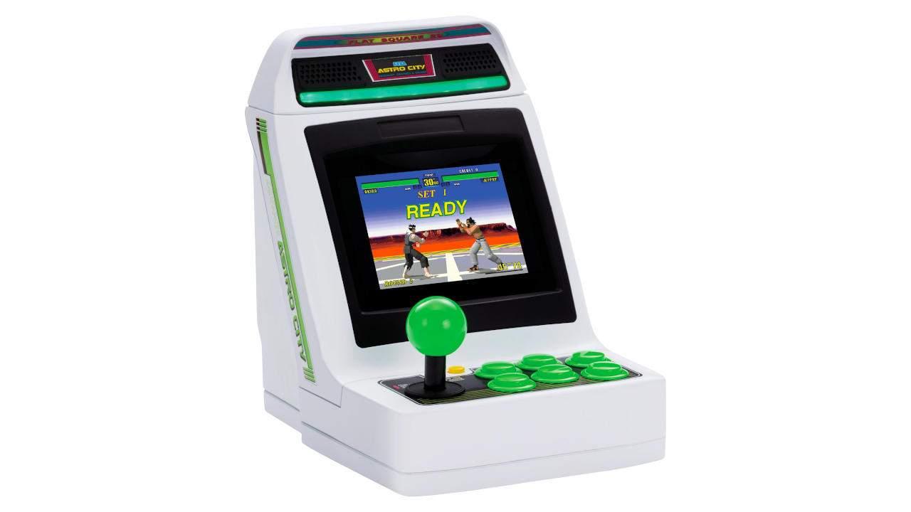 Sega Astro City Mini console is getting a limited US run