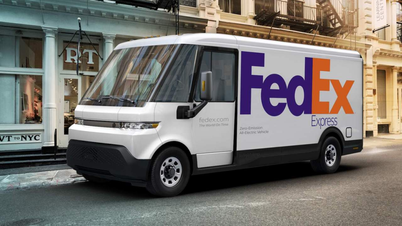 FedEx aims to go all-electric for deliveries – by 2040