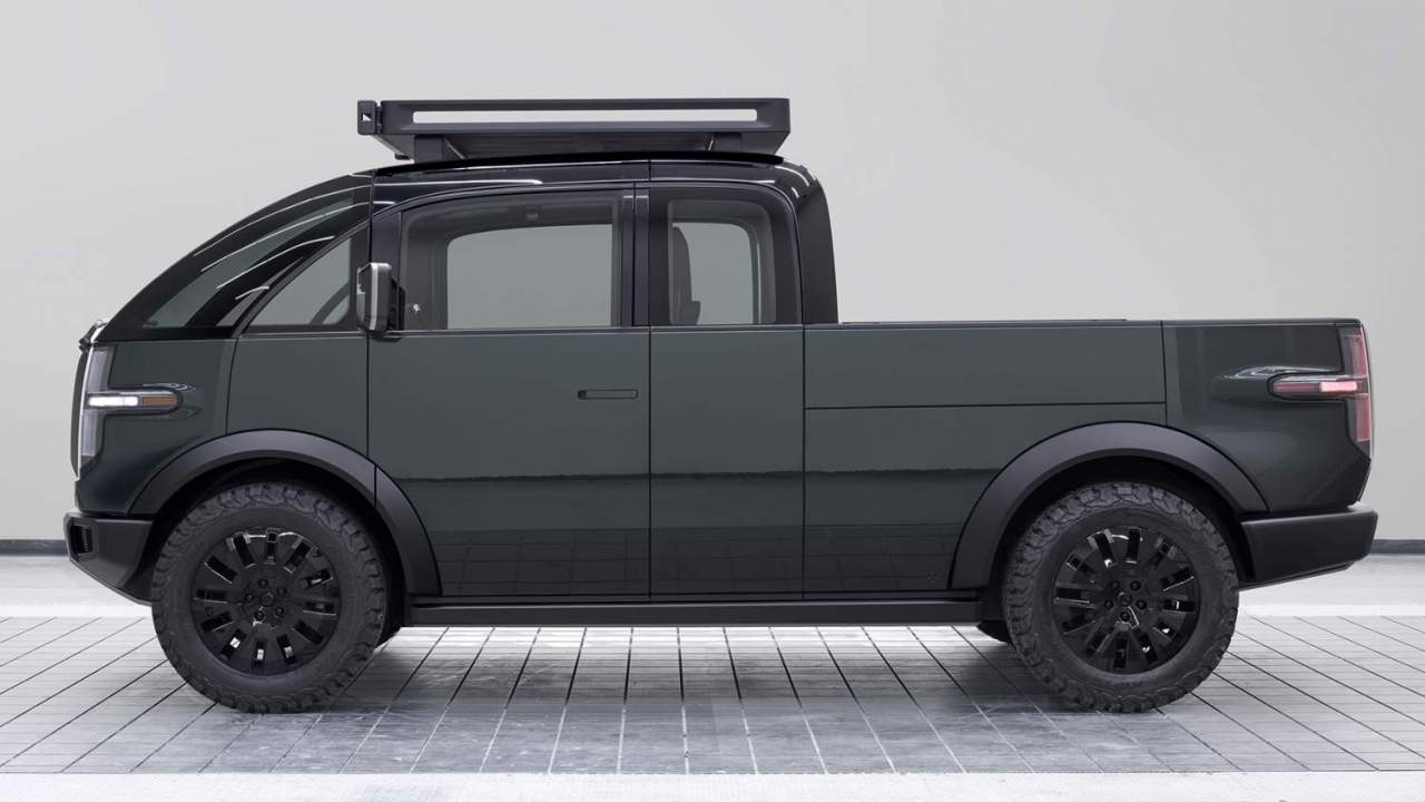 The Canoo Pickup looks like no other electric truck, and I'm fascinated