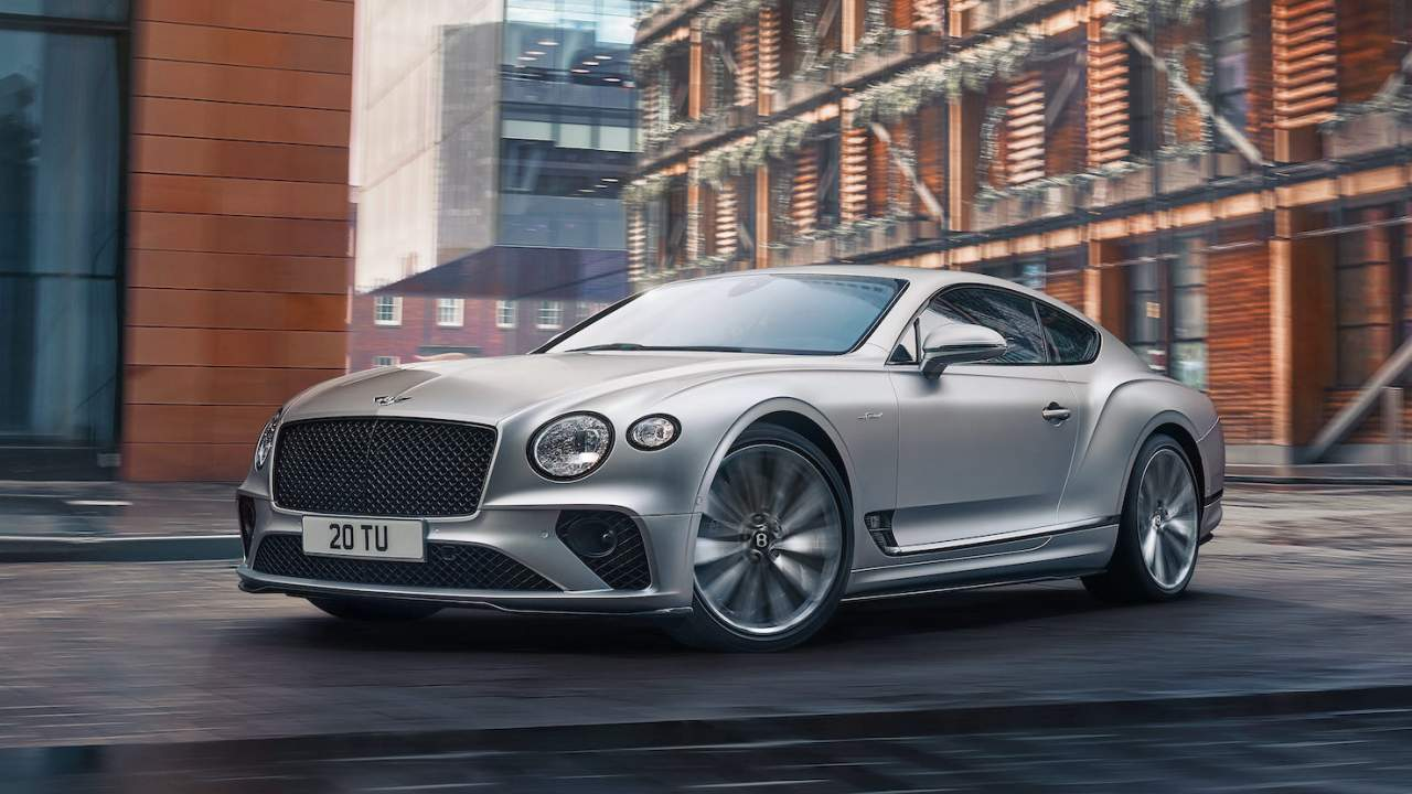 2022 Bentley Continental GT Speed is a 208 mph celebration of W12 power