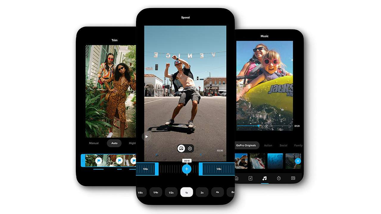 GoPro mobile app is now Quik, adds private feeds to music video creation