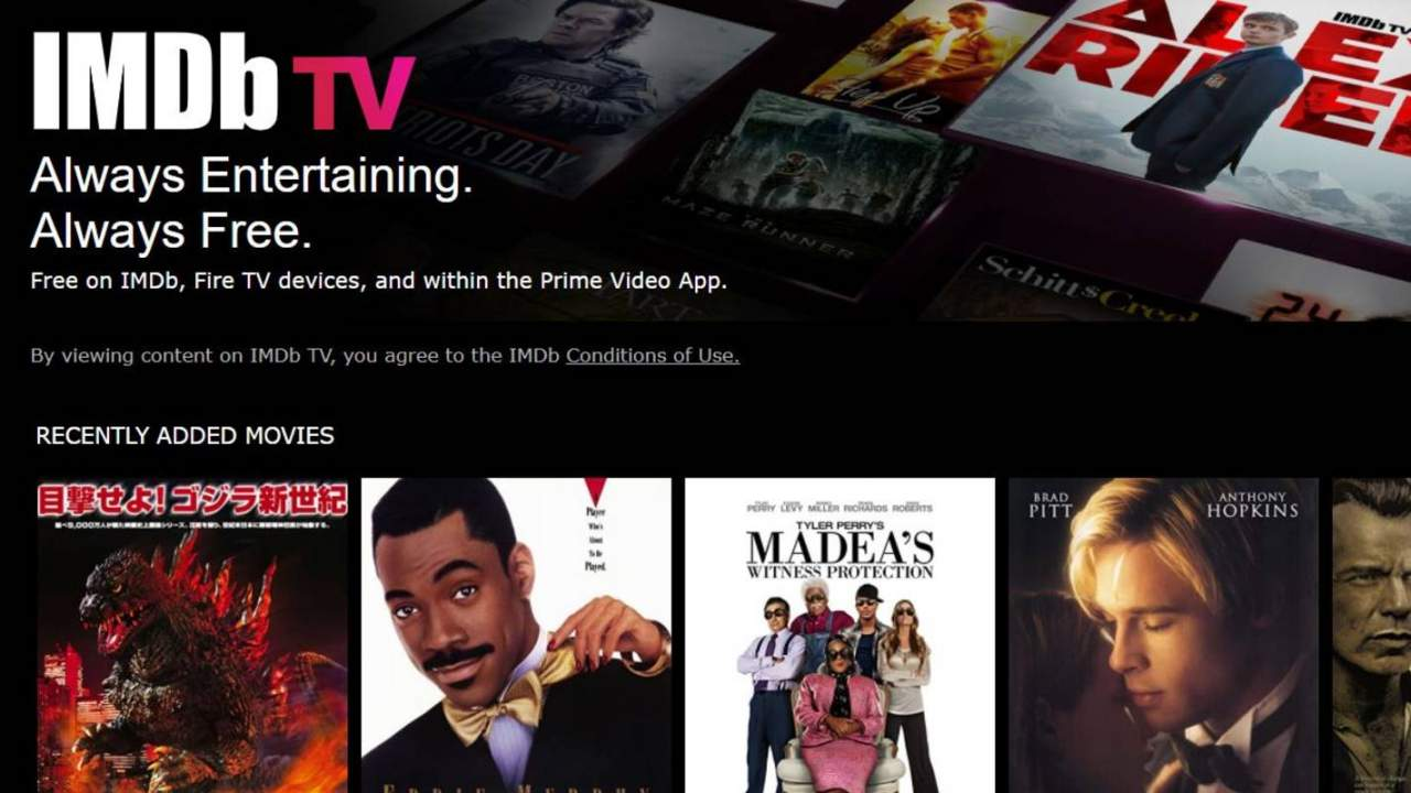 IMDb TV free streaming service arrives on more platforms, including PS4
