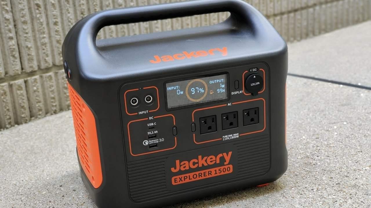 Jackery Explorer 1500 Portable Power Station Review