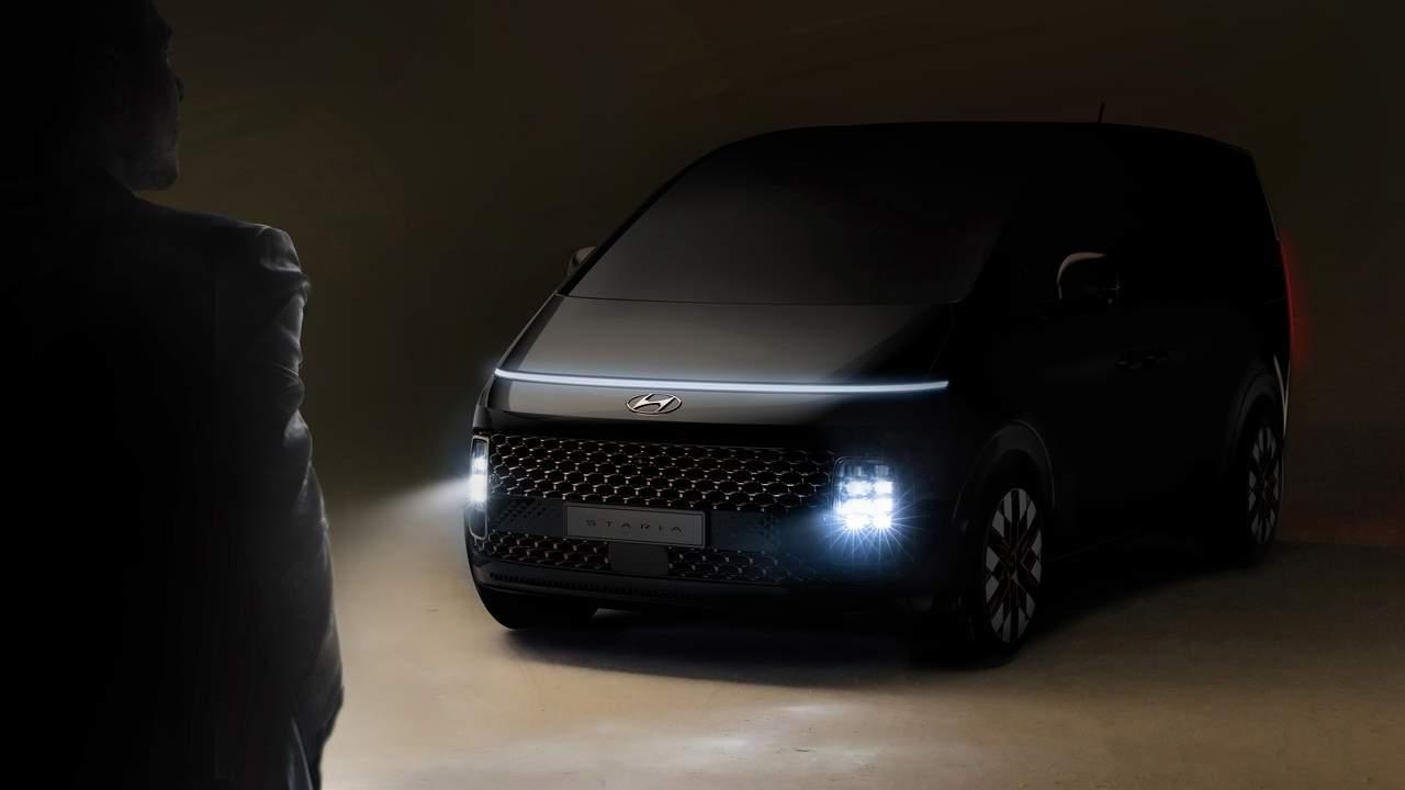 Hyundai Staria MPV previews next-gen Starex bearing futuristic design cues