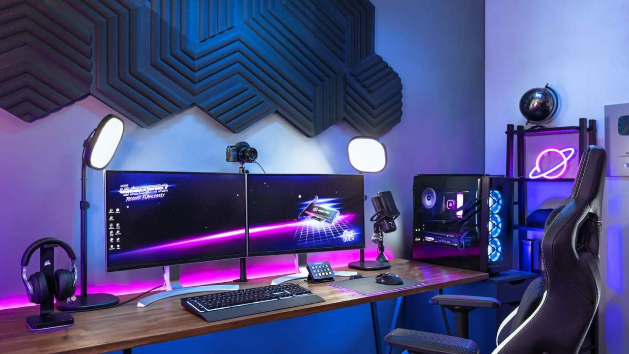 Elgato Light Strip and acoustic Wave Panels give streamers an A/V upgrade