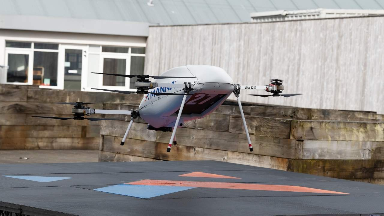 Samsung delivers Galaxy phone, wearables via drones in Ireland