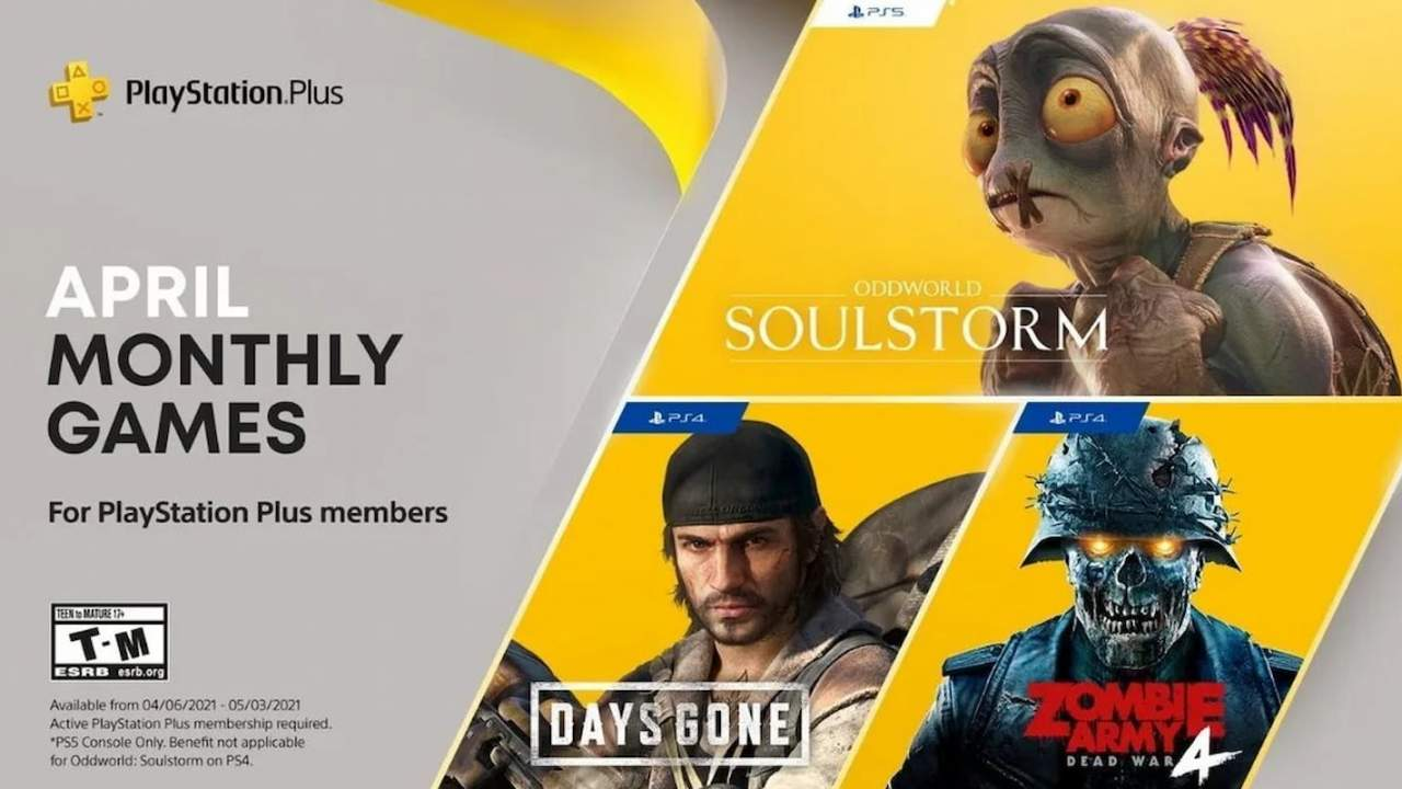 PlayStation Plus free games for April bring on the zombies