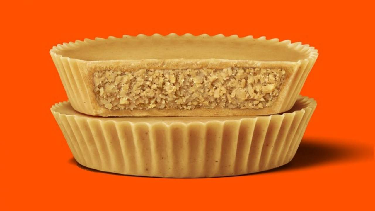 Hershey's 'most extreme' Reese's peanut butter cups ditch the chocolate