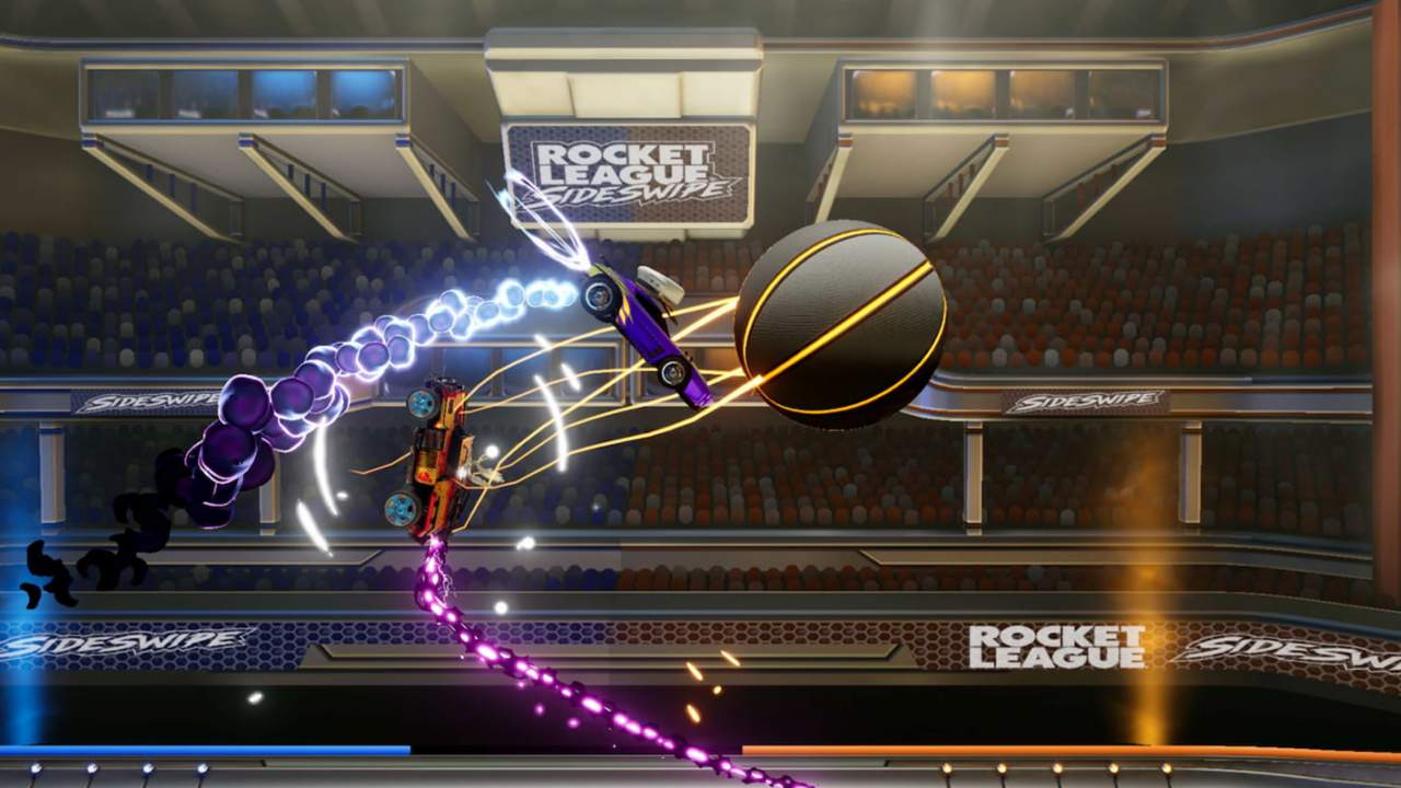 Rocket League Sideswipe is a standalone spin-off for iOS and Android