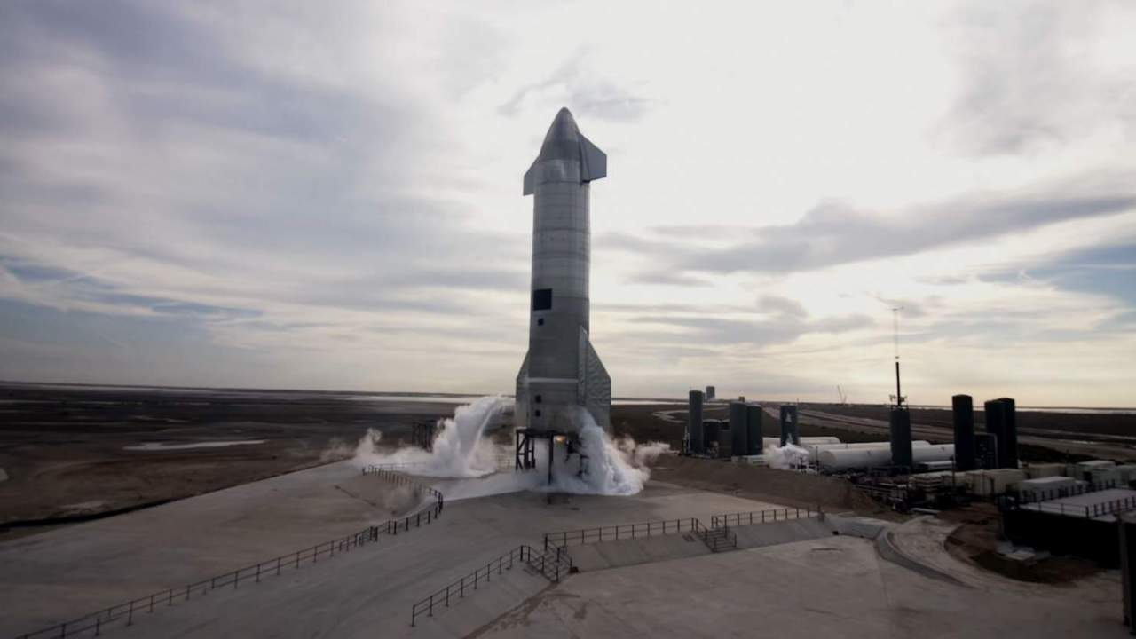SpaceX SN10 test flight recap video makes science fiction reality