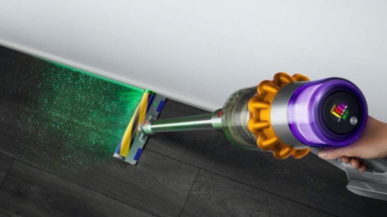 Dyson V15 Detect cordless vacuum uses laser to highlight dust