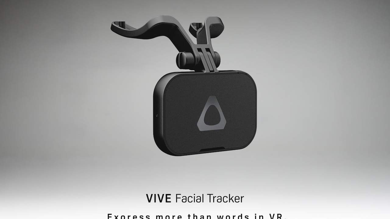 HTC VIVE Facial Tracker and Tracker 3.0 revealed and the must-see results are astonishing