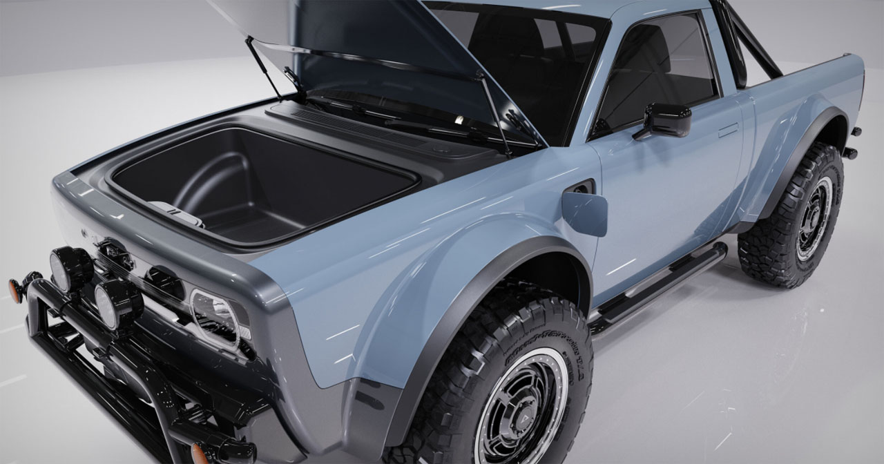 Alpha Wolf EV pickup can go up to 275 miles per charge