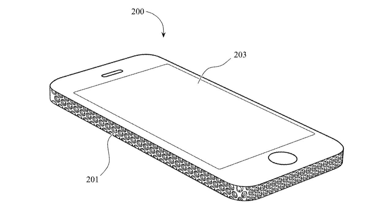 Apple just patented a wild iPhone design with Mac Pro mesh