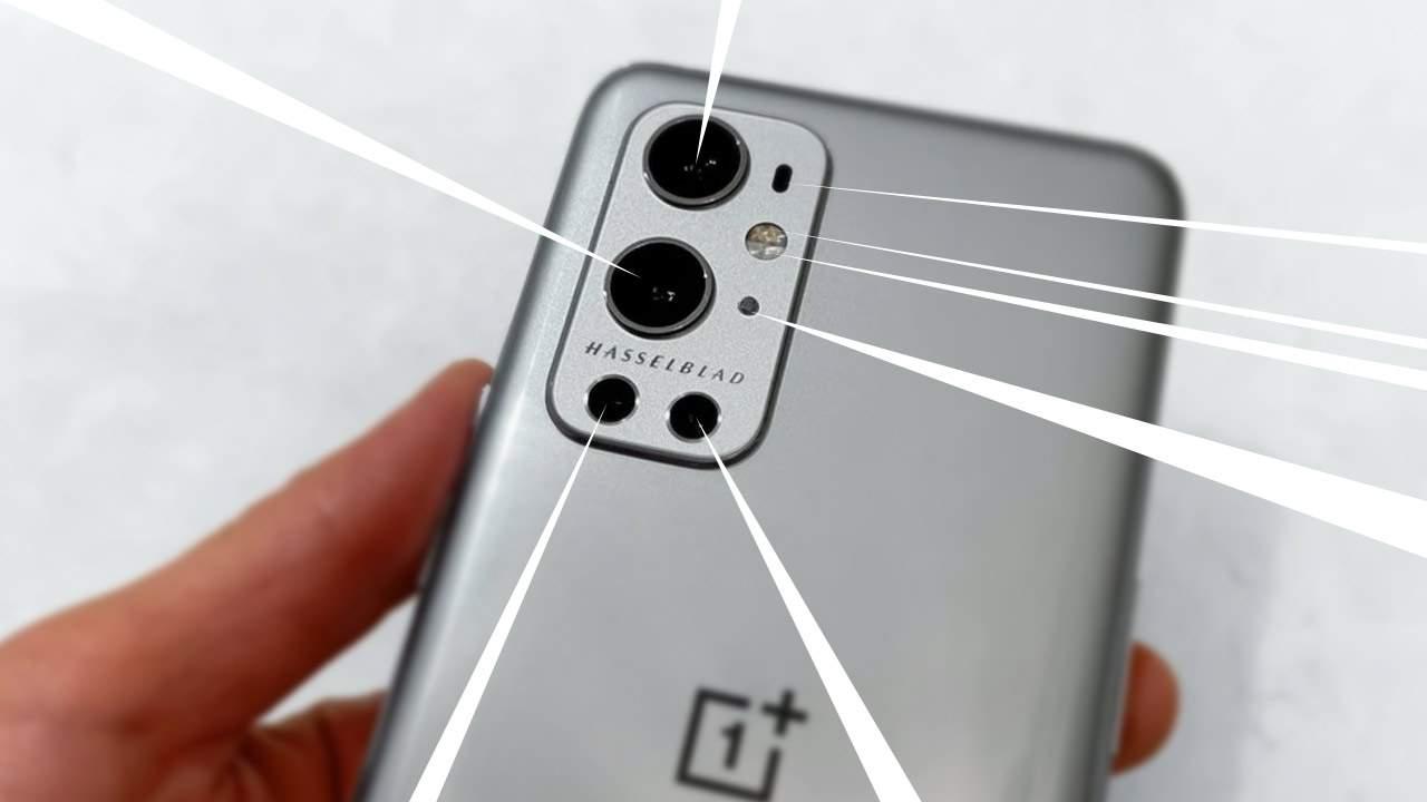 Sony IMX789 promo details OnePlus 9 Hassleblad camera power