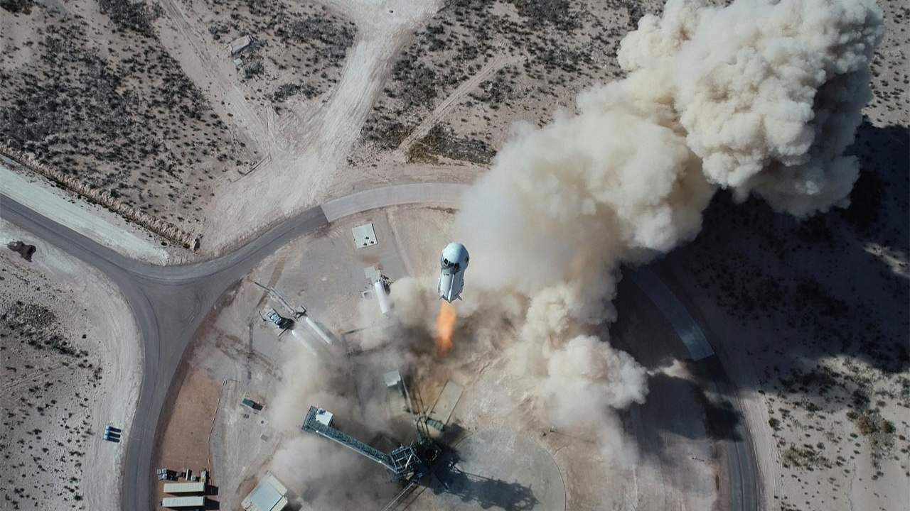 Blue Origin and NASA team up for new lunar gravity testing capability