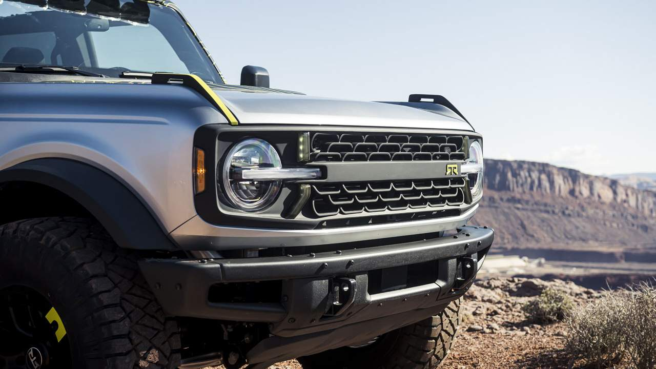 Customized Bronco and Bronco Sport SUVs to be shown off in Moab