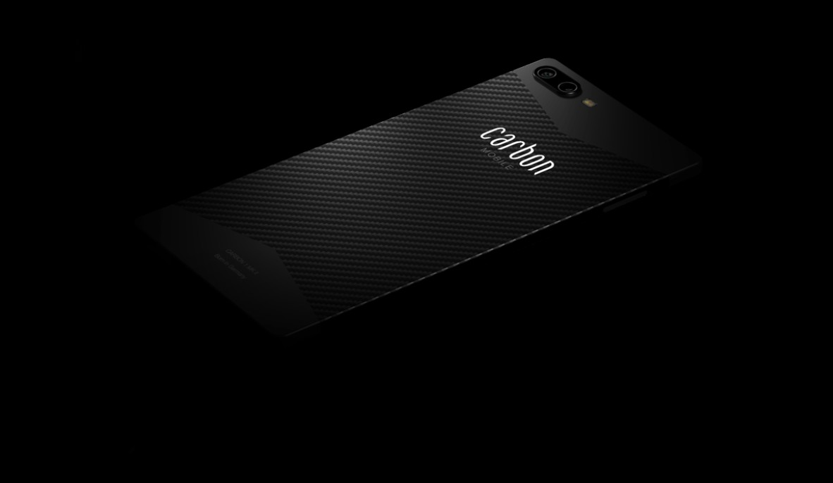 Cool carbon fiber smartphone called Carbon 1 Mark II is extremely light