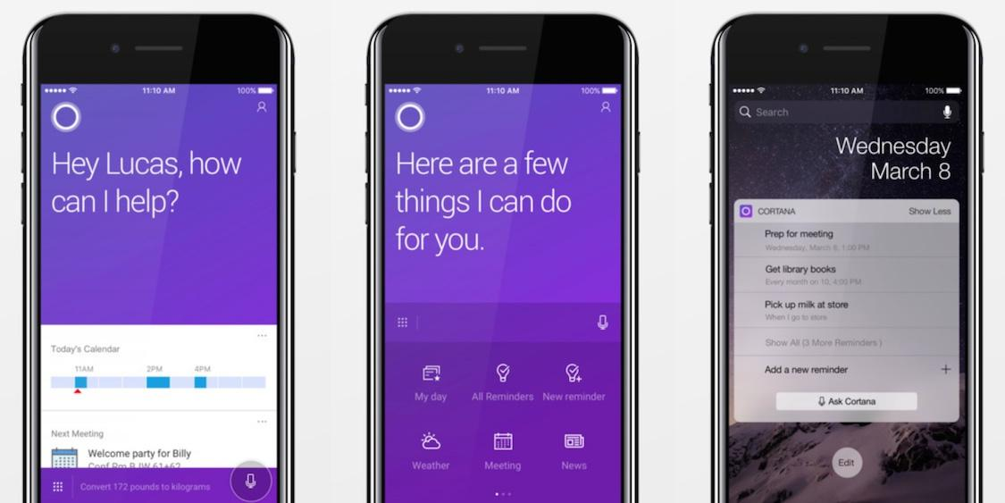 Cortana app for iOS and Android shuts down – How to access your data