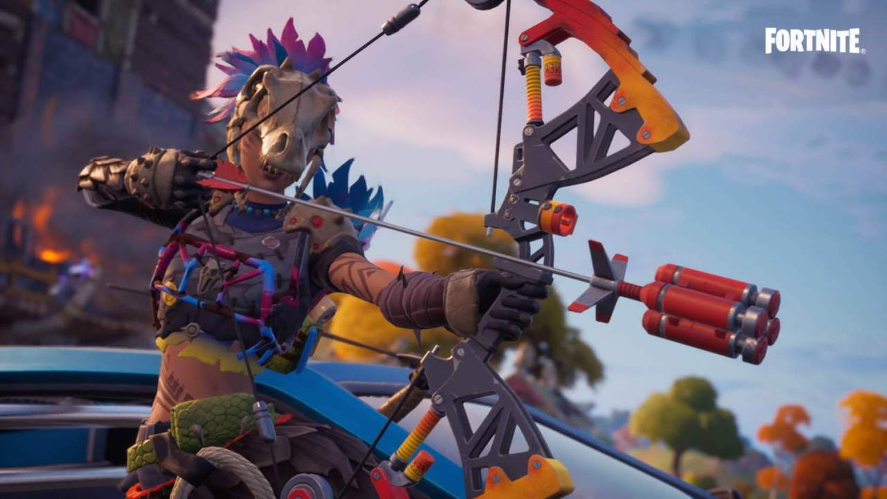Epic hints at dinosaurs coming to the Fortnite battle royale island