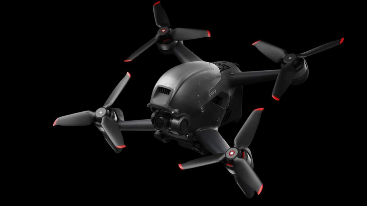 DJI FPV is a super-fast 4K drone with goggles for the pilot