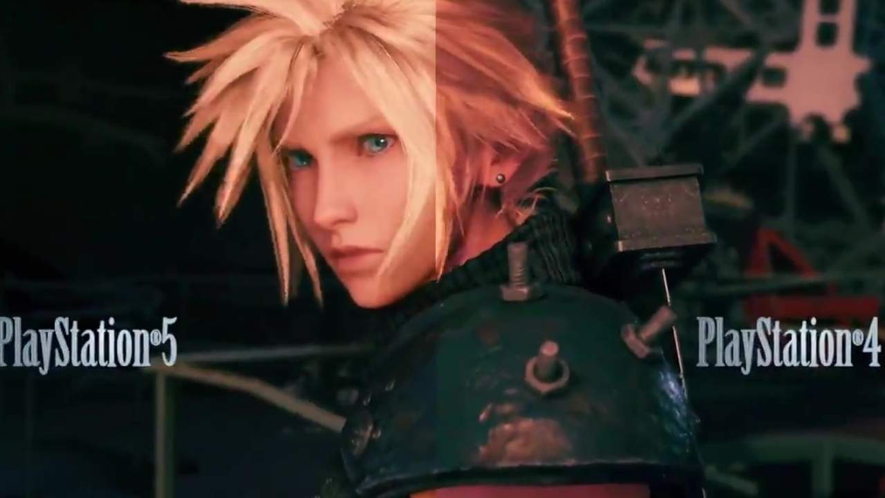 Final Fantasy VII Remake Intergrade trailer compares PS4, PS5 visuals