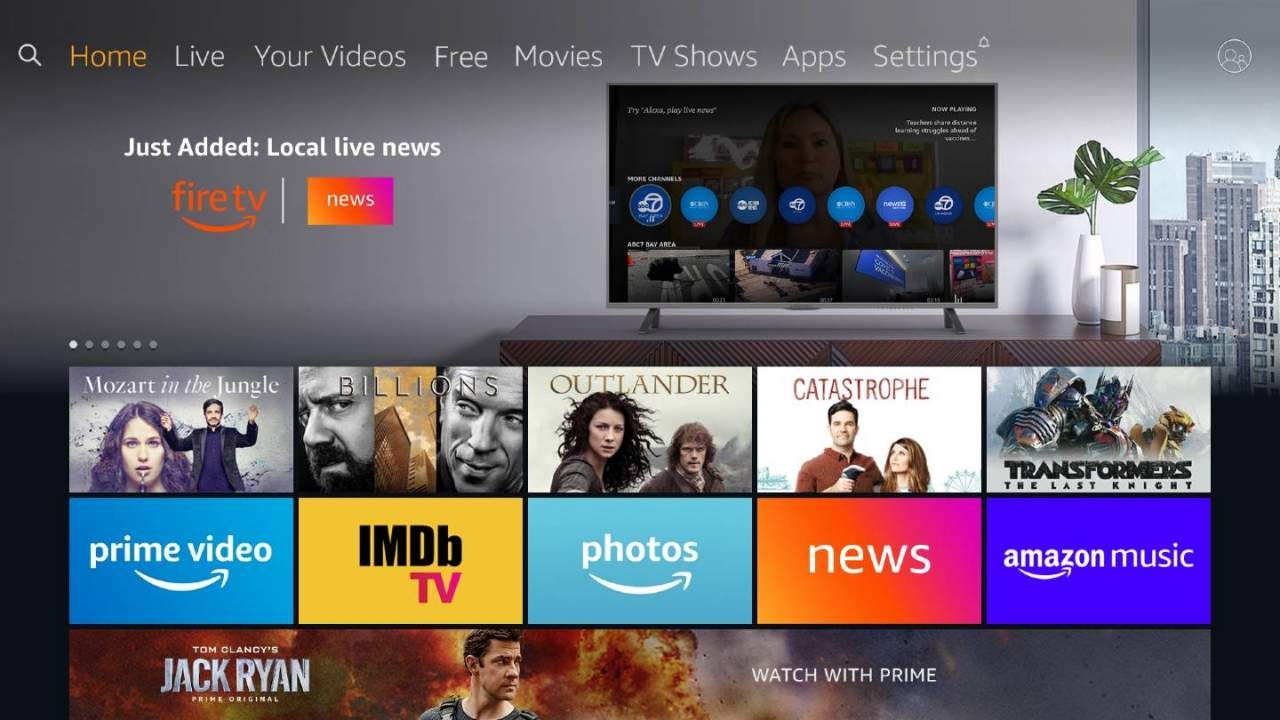 Amazon Fire TV News app adds dozens of local news channels