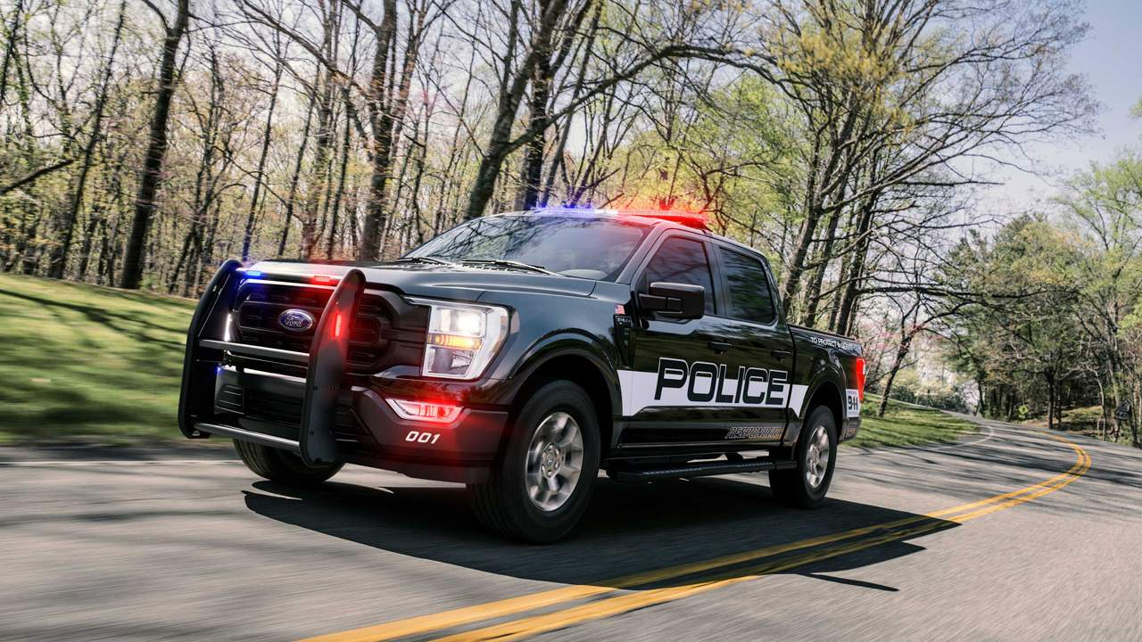 2021 Ford F-150 Police Responder is a pursuit-rated pickup