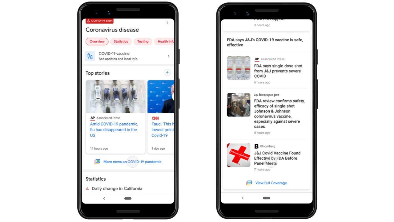 Google Search Full Coverage adds some context to the news
